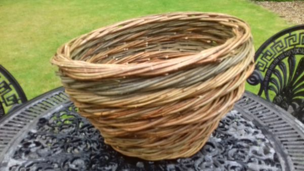 Rope coil bowl