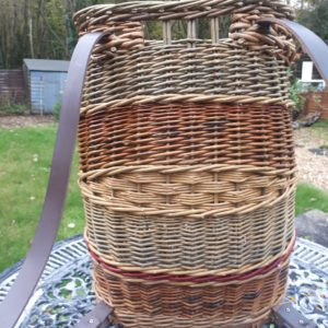 Rucksack Basket with Leather handles