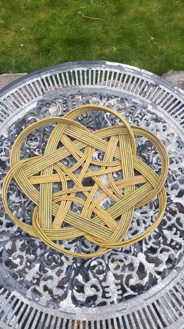 Celtic knot tray